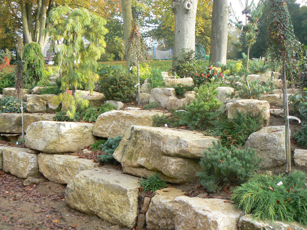 Landscape Supply Co >> Purbeck Rockery Stone in a private garden | CED Ltd for all your Natural Stone