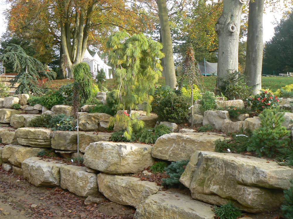 Purbeck Rockery Stone In A Private Garden Ced Ltd For