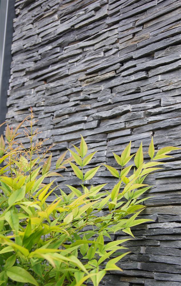 Thin Black Slate Tier Panel. The Magistrates' Garden' Chelsea Flower Show 2011' Silver Medal Winner.