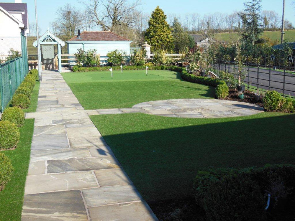 Riven yorkstone paving ced ltd for all your natural stone for Garden design jobs ireland