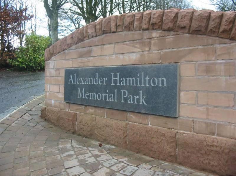 Alexander Hamilton Memorial Park.