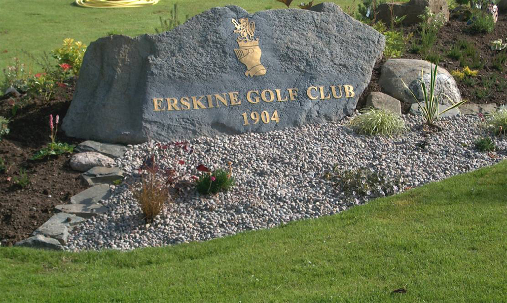 Erskine Golf Club' Scotland.