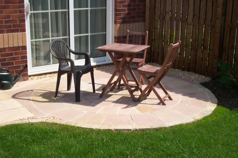 Pink Sandstone Circle' Private Garden.