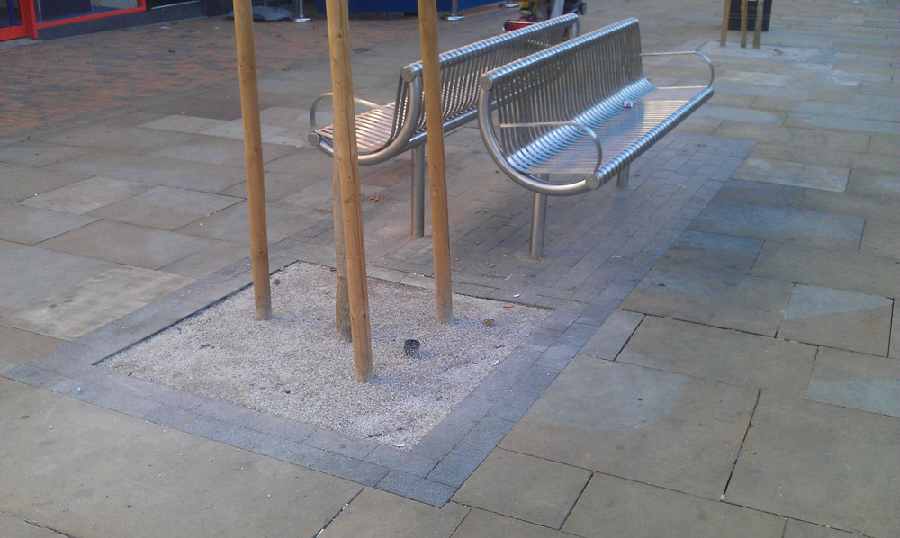 SuperCEDEC® Silver in Romford High Street.