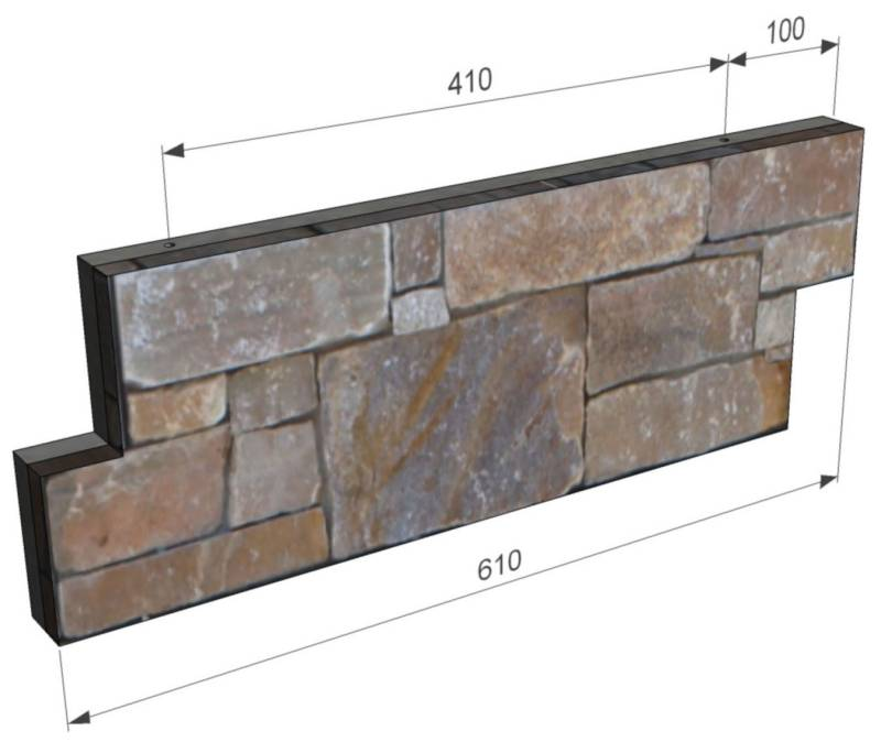 Tier Panel System installation | CED Ltd for all your Natural Stone