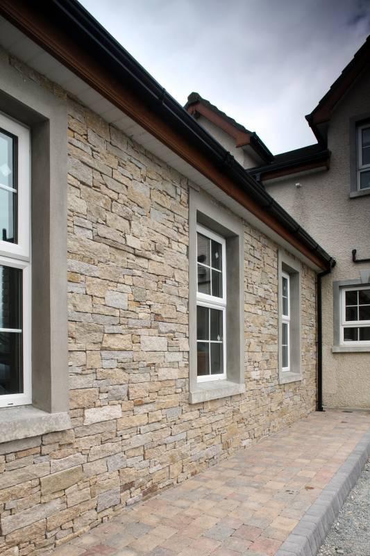 Rustic Granite Tier Panelling