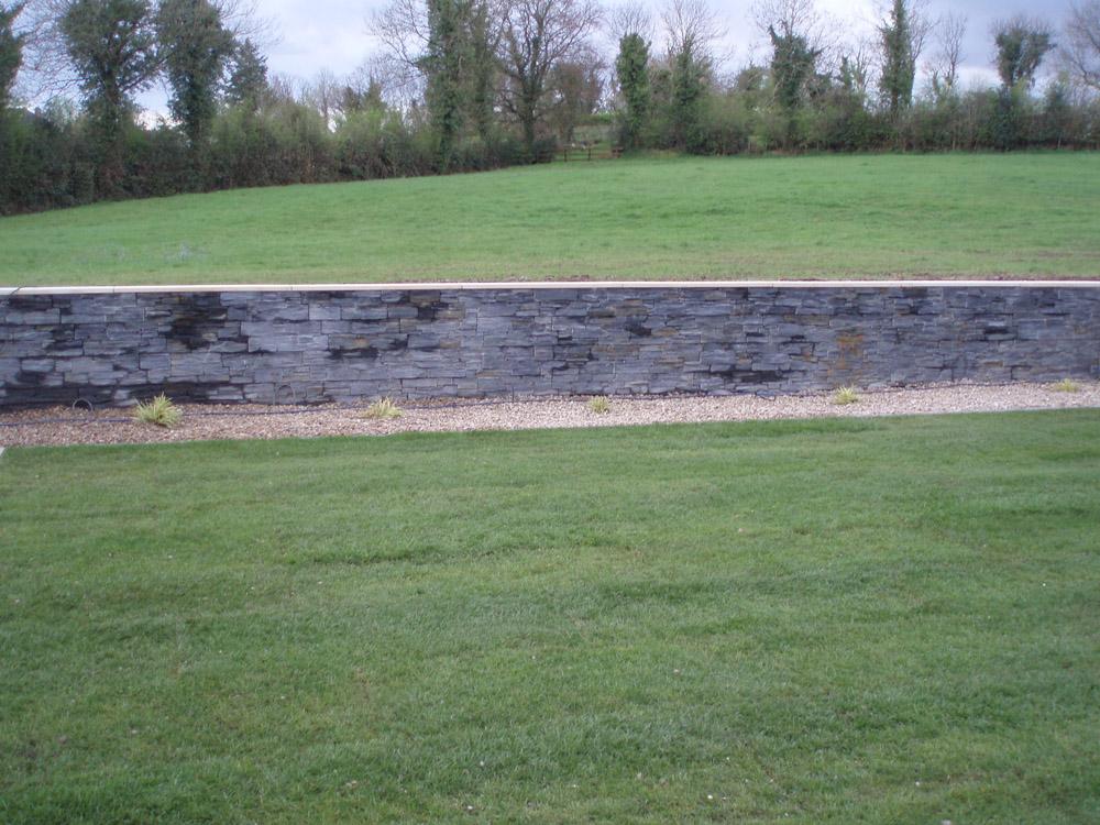 Black slate Tier. Stockist display area in Ireland.