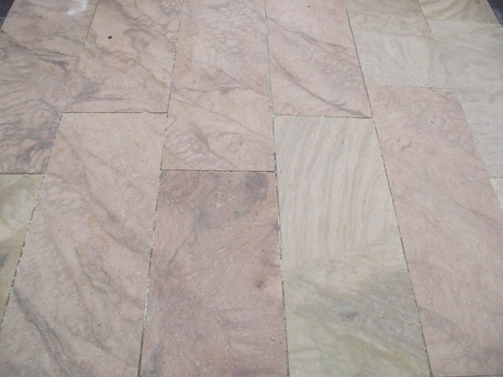 <p>Cambrian Quartzite</p>  <p>Sawn & flame textured</p>  <p>430mm wide x 700-1500mm long x 40mm thick</p>