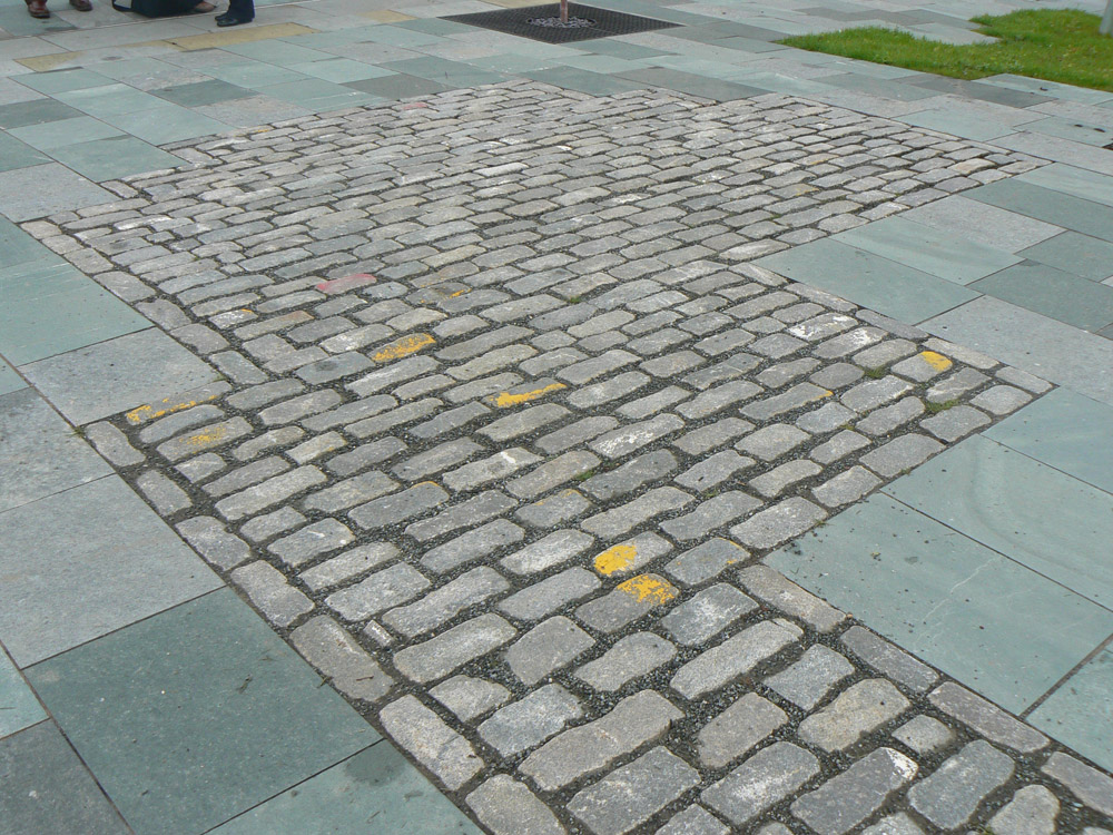 <p>Reclaimed Aberdeen Granite Setts</p>  <p>Subject to availability</p>  <p>100mm x 150mm x RL</p>