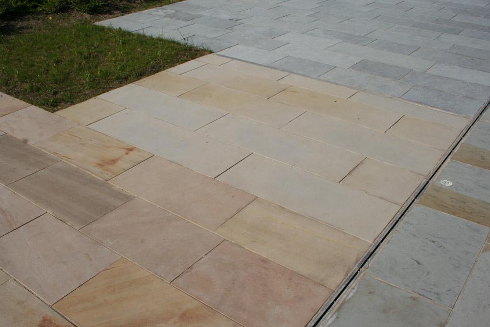 <p>Scottish Light Buff Sandstone</p>  <p>S226/2128/2038</p>  <p>Sawn</p>  <p>400mm x 50mm x RL</p>  <p>This paving is readily available</p>