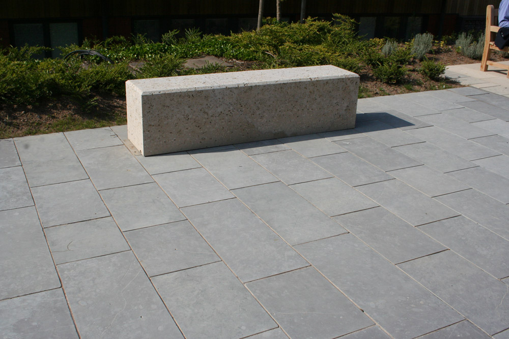 <p>Blue Lias Limestone</p>  <p>S3/11087/990</p>  <p>Sawn &amp; shot blasted</p>  <p>400mm x 50mm x RL</p>  <p>This paving is readily available</p>