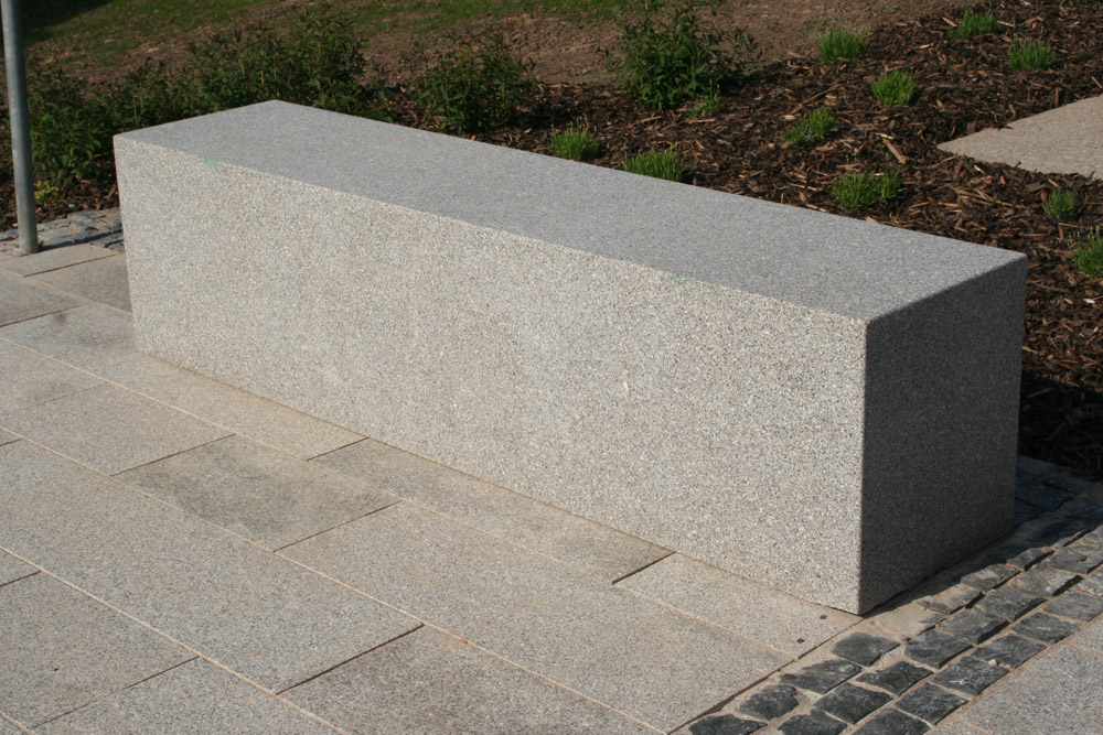 <p>Northern Irish Mourne Granite Bench</p>  <p>Sawn &amp; honed top with flamed sides</p>  <p>450mm wide x 500mm high x 2m long</p>